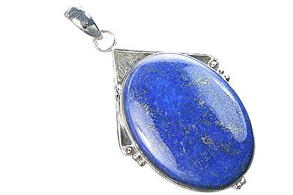 Design 15885: brown,green,red lapis lazuli chunky pendants