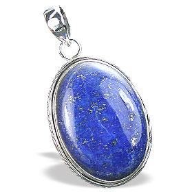 Design 15886: brown,green,red lapis lazuli contemporary pendants