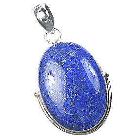 Design 15887: blue lapis lazuli classic pendants