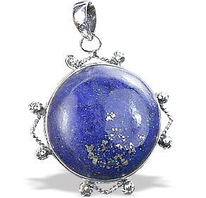Design 15899: blue lapis lazuli classic pendants