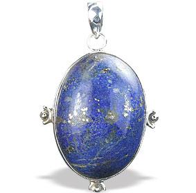 Design 15900: blue lapis lazuli american-southwest pendants