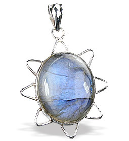 Design 15902: blue,green,gray labradorite pendants