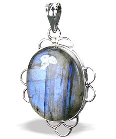 Design 15903: blue,green labradorite pendants