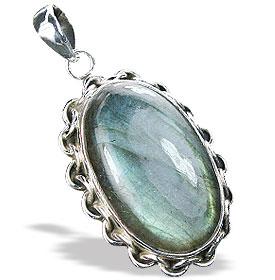 Design 15904: blue,green,gray labradorite pendants
