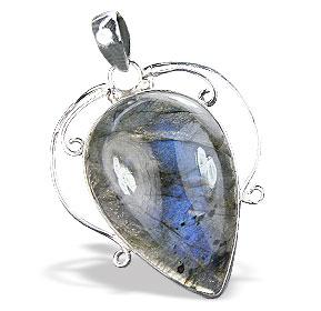 Design 15905: blue,green,gray labradorite pendants
