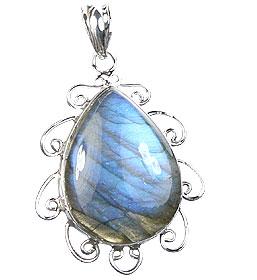Design 15906: blue,green,gray labradorite pendants