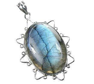 Design 15910: blue labradorite classic pendants