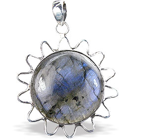 Design 15915: blue labradorite pendants