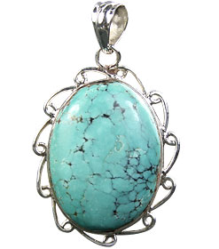 Design 16003: green chrysoprase chunky pendants