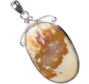 Design 16018: yellow jasper american-southwest pendants