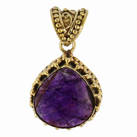 Design 16770: purple amethyst pendants