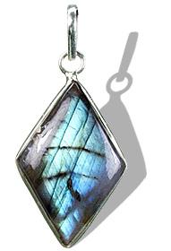 Design 1682: gray,green labradorite pendants