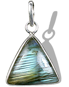 Design 1683: blue,green,gray labradorite pendants