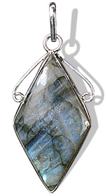 Design 1686: blue,green,gray labradorite pendants