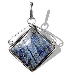 Design 1687: blue,green,gray labradorite pendants