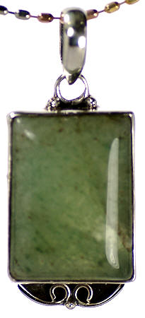 Design 17064: green aventurine pendants