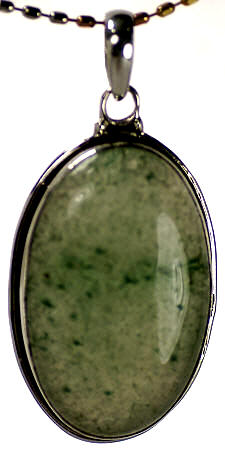 Design 17066: green aventurine pendants