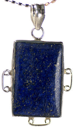 Design 17073: blue lapis lazuli pendants
