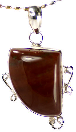 Design 17092: brown jasper pendants