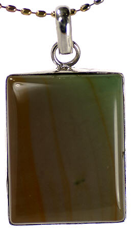 Design 17096: green multi pendants