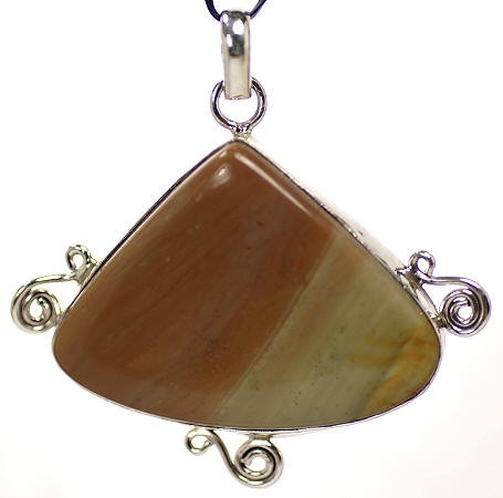 Design 17127: brown,green multi pendants