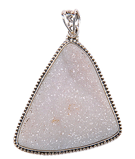 Design 17606: clear quartz pendants