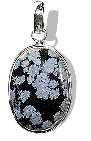 Design 1801: black obsidian pendants