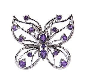 Design 18068: purple amethyst pendants
