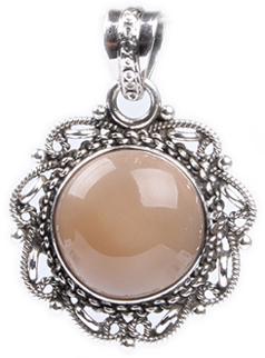Design 18345: white moonstone pendants
