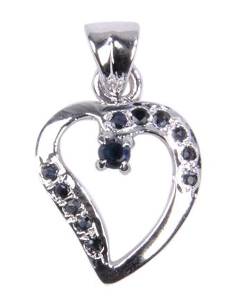 Design 18518: blue sapphire pendants