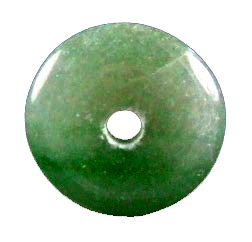Design 18563: green aventurine pendants