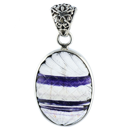 Design 18602: blue fluorite pendants