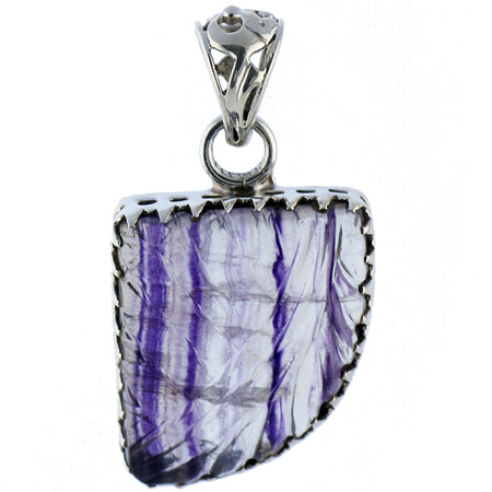 Design 18604: blue fluorite pendants