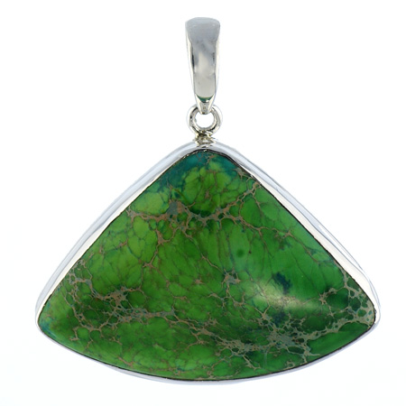 Design 18641: green turquoise pendants