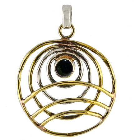 Design 18824: black onyx pendants