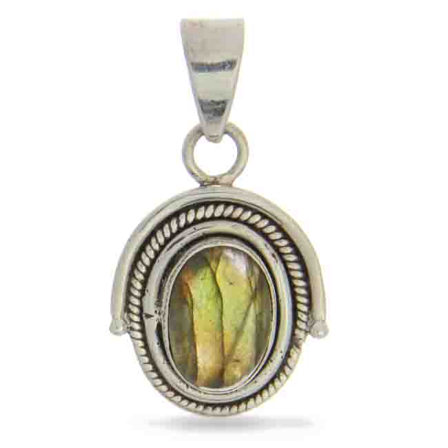Design 20930: green labradorite pendants