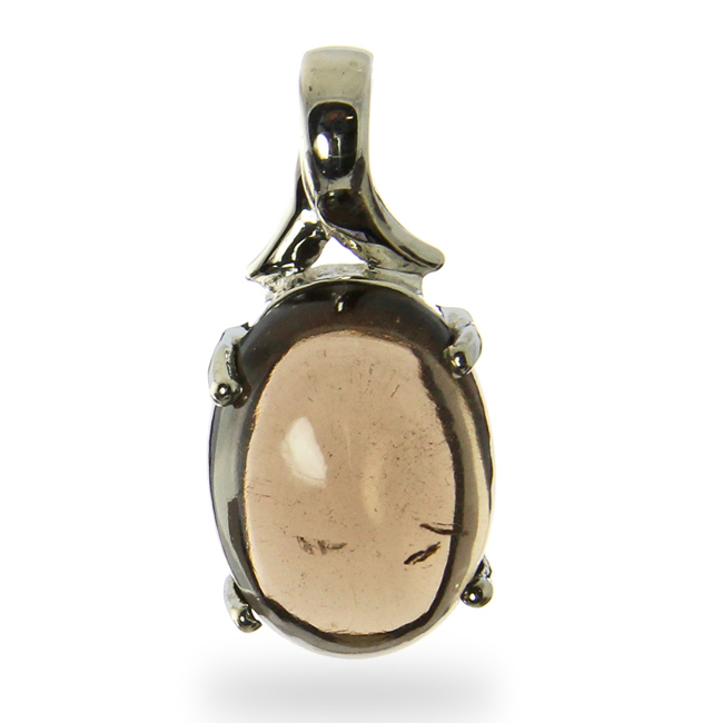Design 20986: brown smoky quartz pendants