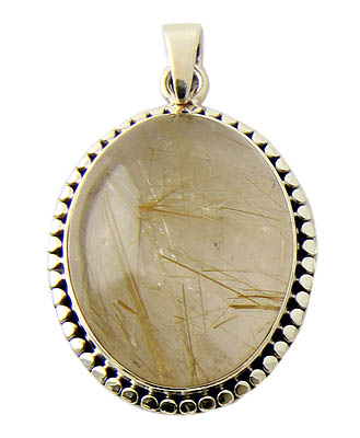 Design 21137: clear quartz pendants