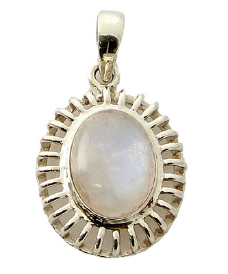 Design 21145: white moonstone pendants