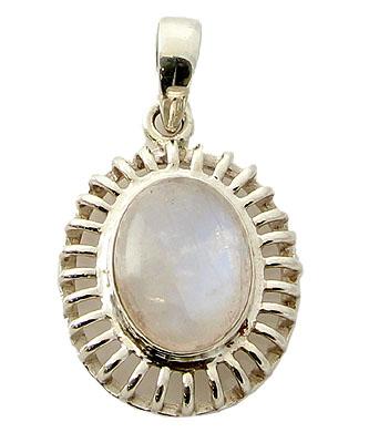 Design 21145: white moonstone pendants