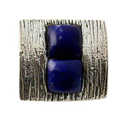 Design 21150: blue lapis lazuli pendants
