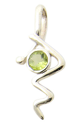 Design 21152: green peridot pendants