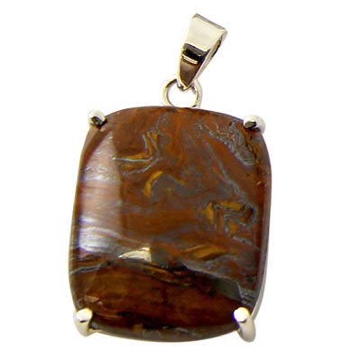 Design 21161:  bronzite pendants