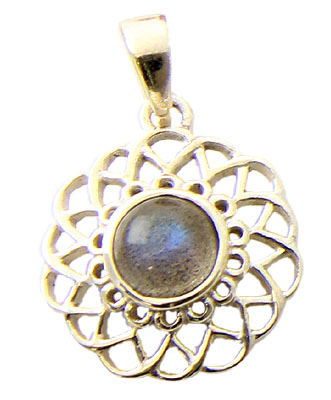 Design 21162: green labradorite pendants