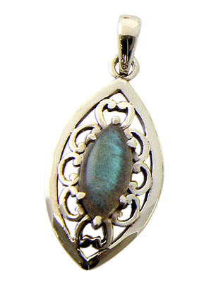 Design 21163: green labradorite pendants