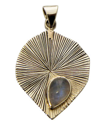 Design 21164: white moonstone pendants