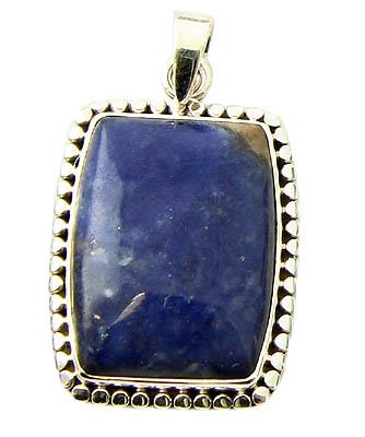 Design 21171: blue sodalite pendants