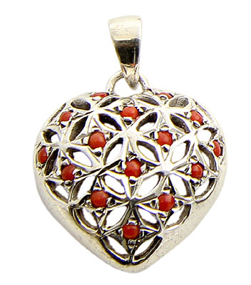 Design 21174: orange carnelian pendants