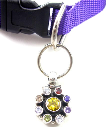 Design 5173: yellow citrine pets pendants