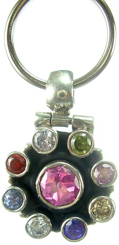 Design 5174: Multi cubic zirconia pets pendants